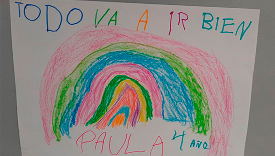 Mensaje positivo coronavirus - Nerea Rodriguez C.